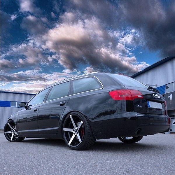 Audi konkava fälgar