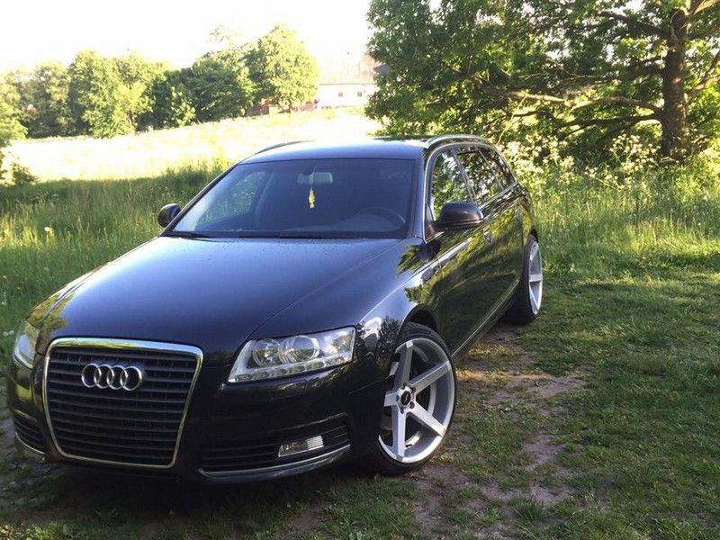 19 tum alufälgar på Audi A4