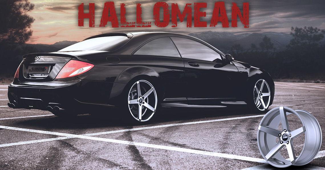 Halloween abs355 AMG fälgar