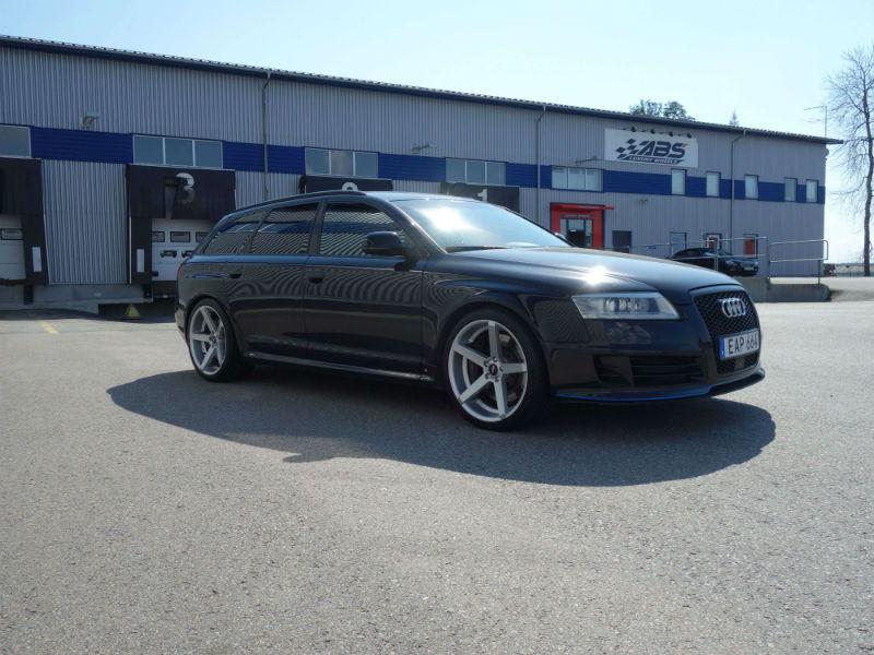 Konkava fälgar Audi A4