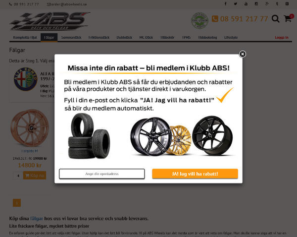 Klubb ABS Wheels