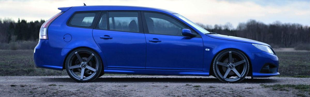Saab däck