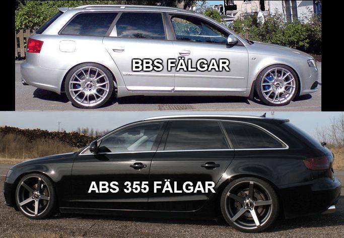 Vilken är snyggast BBS eller ABS355