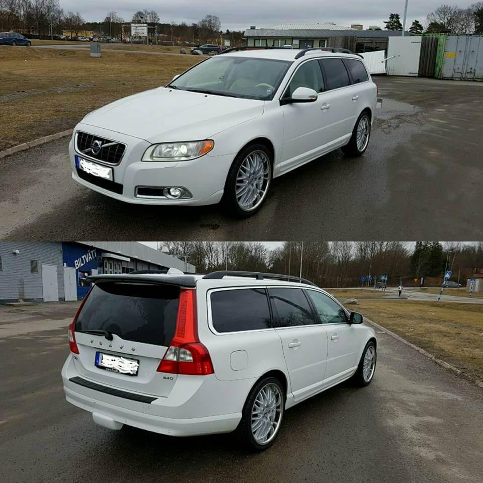 Volvo fälgar vit ABSOLYMPIA