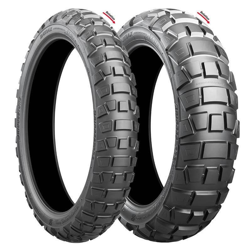 110/80R19 59Q Bridgestone AX41F TL