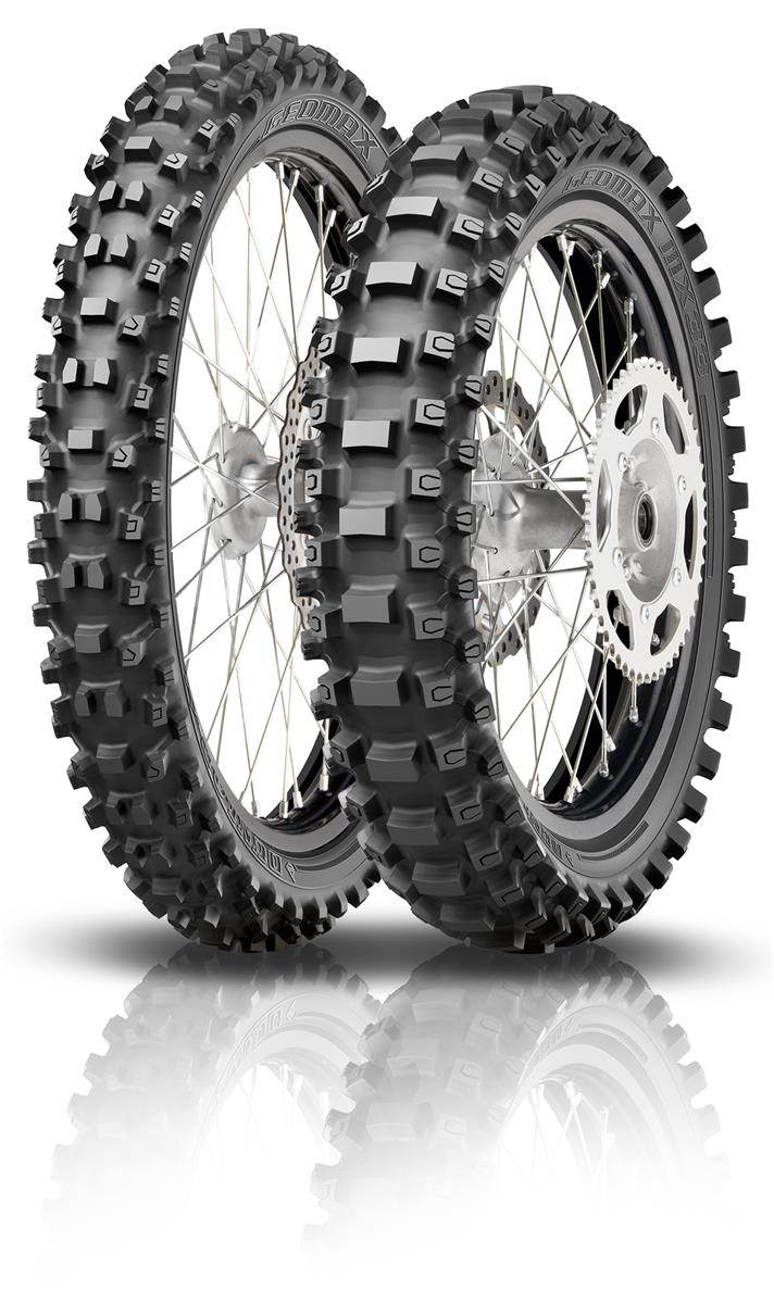 100/100R18 59M Dunlop Dunlop Geomax MX33 100/100-18 59M TT Re. TT Re.