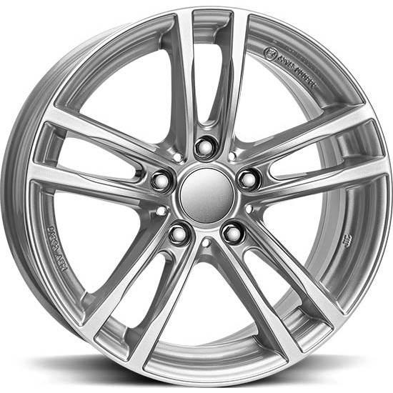 X10 RIAL X10 Silver SET 8.0 - 8.5 BMW 18x8 5/120 N72,6