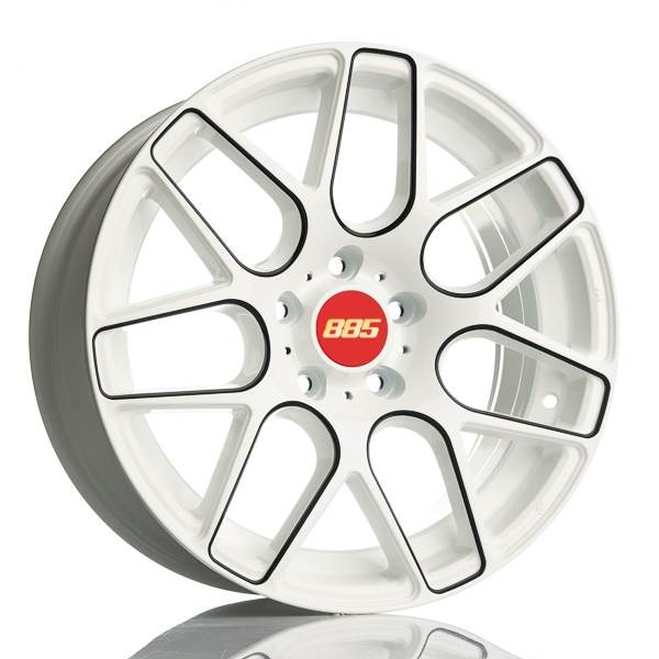 Barzetta Motorsport White & Black 5 ET 35 CB 66.6 - Motorsport White & Black