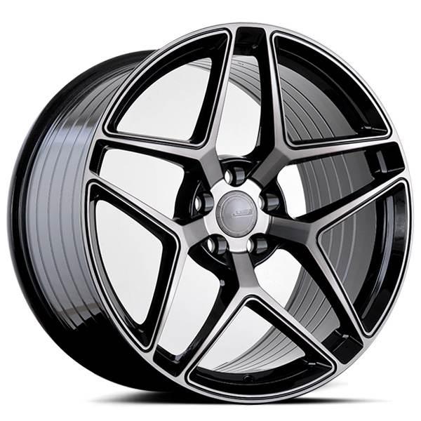 ABS F16 DARK TINT 19x8.5 ET38 CB74.1 5x108-120