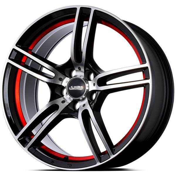 ABS 346 RED STRIPE 16x7.0 ET40 CB73.1 5x100