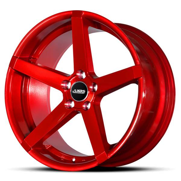 ABS ABS355 CANDY RED 18x9 5/108 N74,1