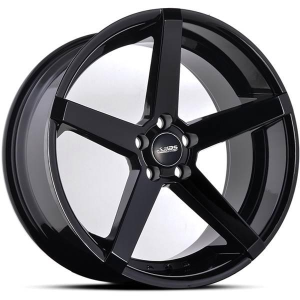 ABS355 GLOSSY BLACK 20x8.5 ET35 CB74.1 5x108-120