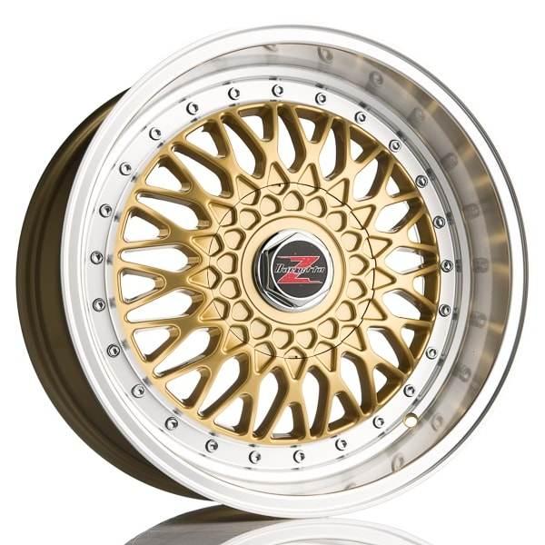 Barzetta Cross-Spoke Gold 5 ET 20 CB 66.6 - Cross-Spoke Gold