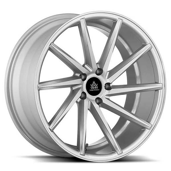 ABS Ferro Wheels FW5  LEFT Hiper Silver 18x8 5/108 N74,1