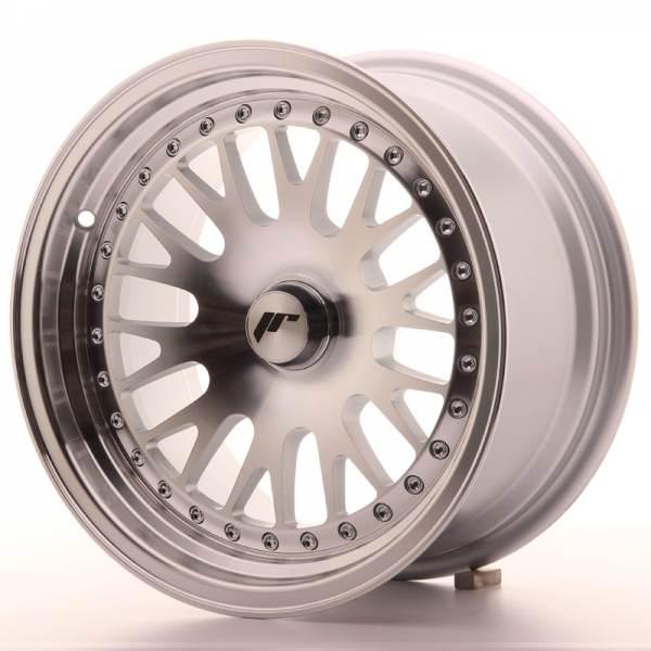 JR Wheels JR10 15x8 ET20 BLANK Silver Machined Face