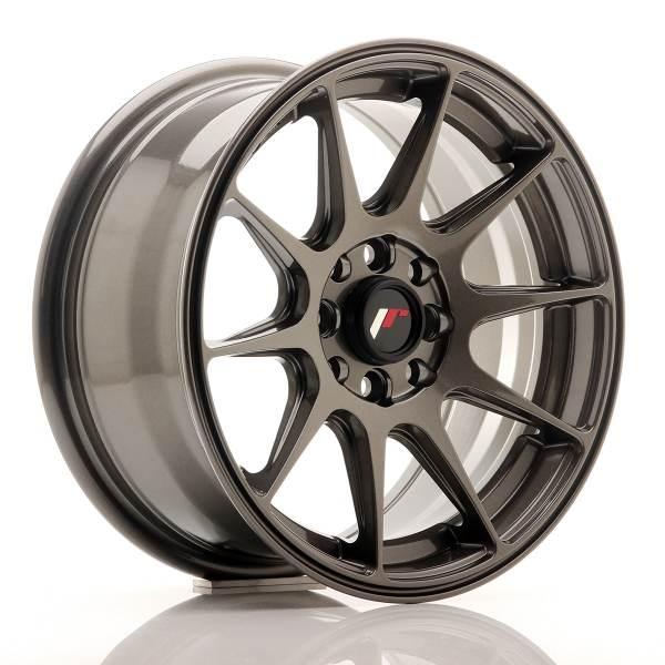 JR Wheels JR11 15x7 ET30 4x100/114 Hyper Gray<br/>