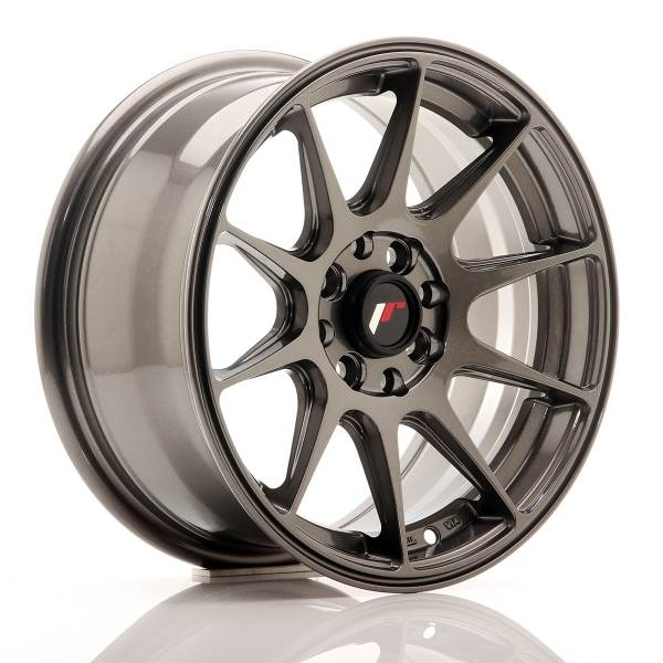 JR Wheels JR11 15x7 ET30 4x100/108 Hyper Gray<br/>