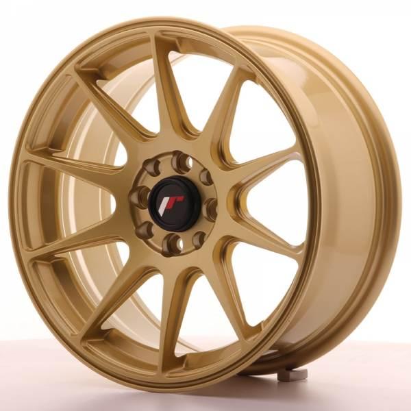 JAPAN RACING JR11 Gold 4x108 ET 25 CB 67.1 - JR11