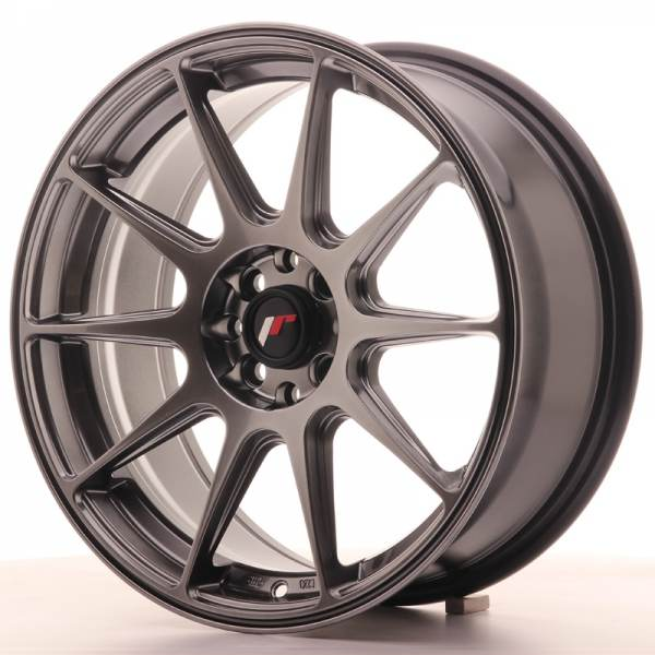 JR11 JAPAN RACING JR11 Hiper Black (Små skador) 19x8,5 5/112 N74,1