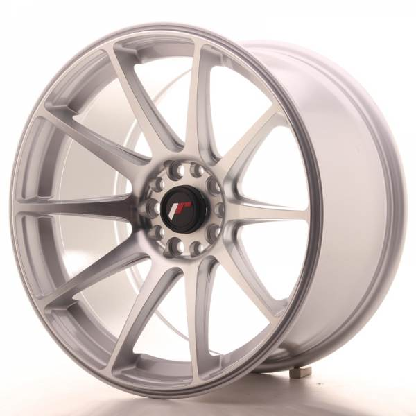 JAPAN RACING JR11 Machined Face Silver 5x112 ET 30 CB 74.1 - JR11