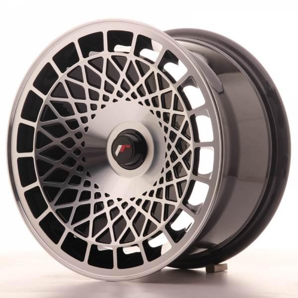 JAPAN RACING JR14 Black Machined Face 5x110 ET 20 CB 67.1 - JR14