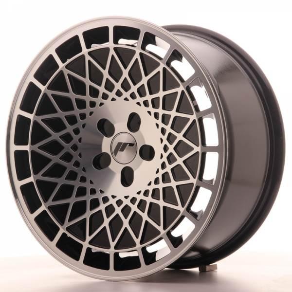 JAPAN RACING JR14 Black Machined Face 5x114.3 ET 35-40 CB 74.1 - JR14