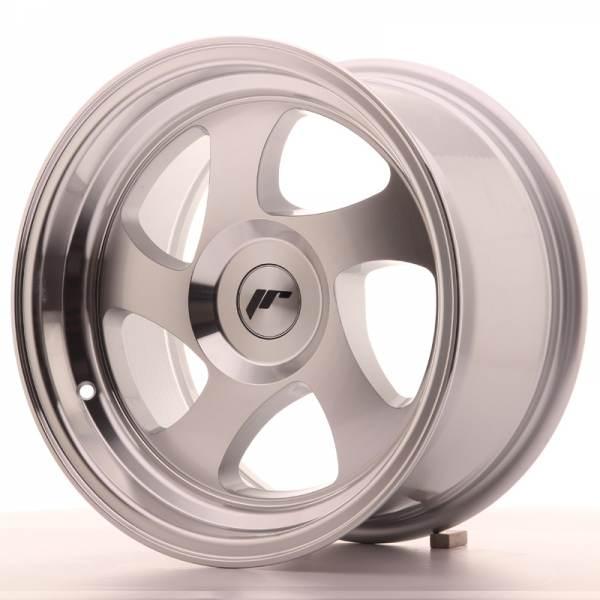 JAPAN RACING JR15 Machined Face Silver 5x100 ET 20 CB 74.1 - JR15