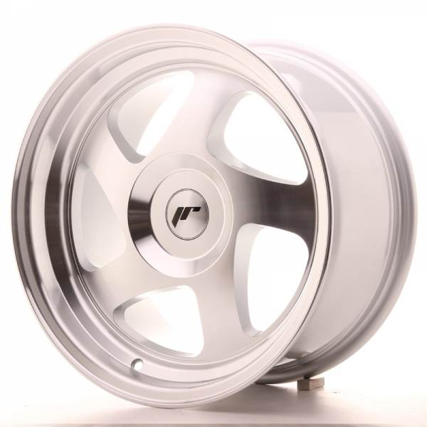 JAPAN RACING JR15 Silver Machined Face (AVM) 16x8.0 ET25 CB74.1 5x114.3