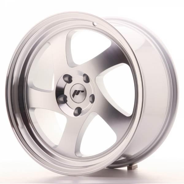 JAPAN RACING JR15 Machined Face Silver 5 ET 40 CB 66.6 - JR15