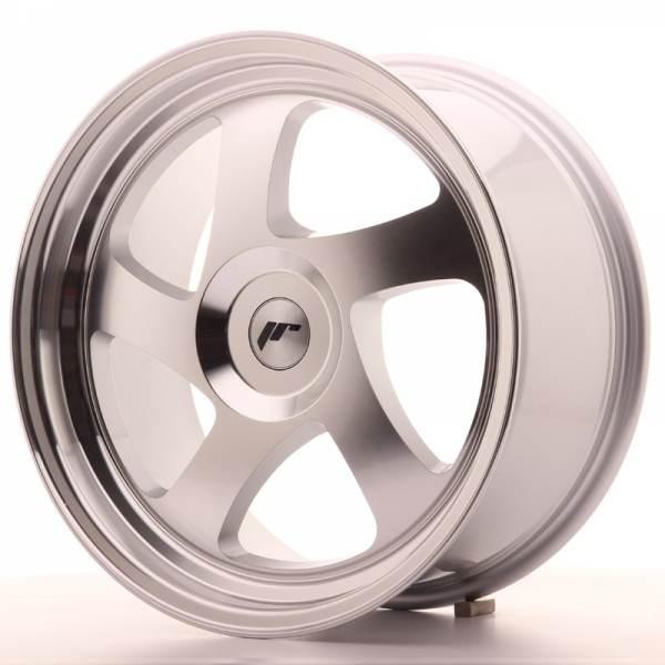 JAPAN RACING JR15 Silver Machined Face 3x112 ET 20-40 CB 74.1 - JR15