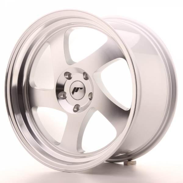 JAPAN RACING JR15 Machined Face Silver 5x105 ET 20-40 CB 74.1 - JR15