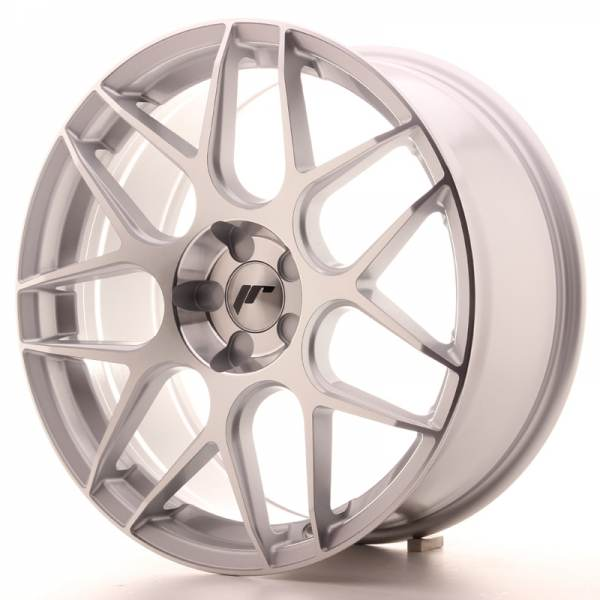 JAPAN RACING JR18 Silver Machined Face 5x115 ET 35-40 CB 74.1 - JR18
