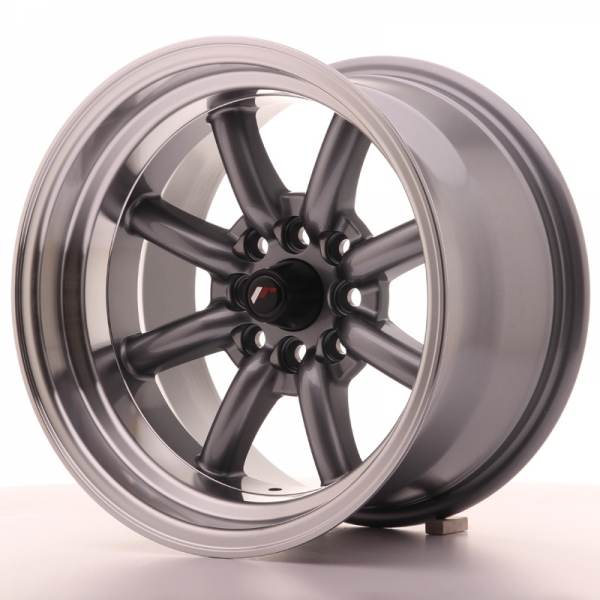 JAPAN RACING JR19 Gun metal 4x108 ET -13 CB 73.1 - JR19