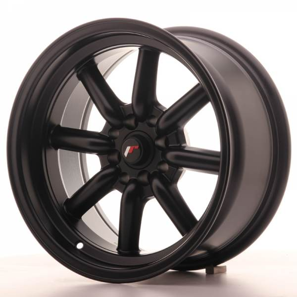 JAPAN RACING JR19 Black 4x114.3 ET 0 CB 73.1 - JR19