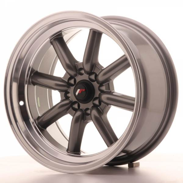 JAPAN RACING JR19 Gun metal 4x114.3 ET 0 CB 73.1 - JR19