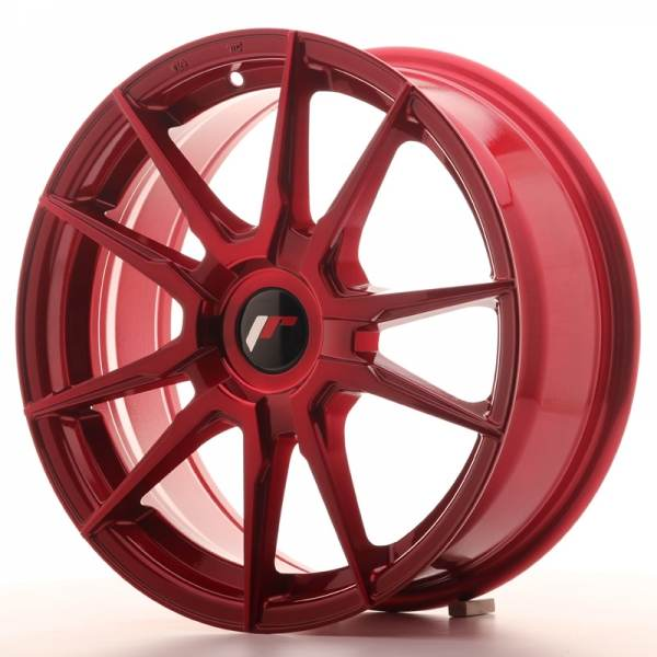 JAPAN RACING JR21 Red 5x114.3 ET 35-40 CB 74.1 - JR21