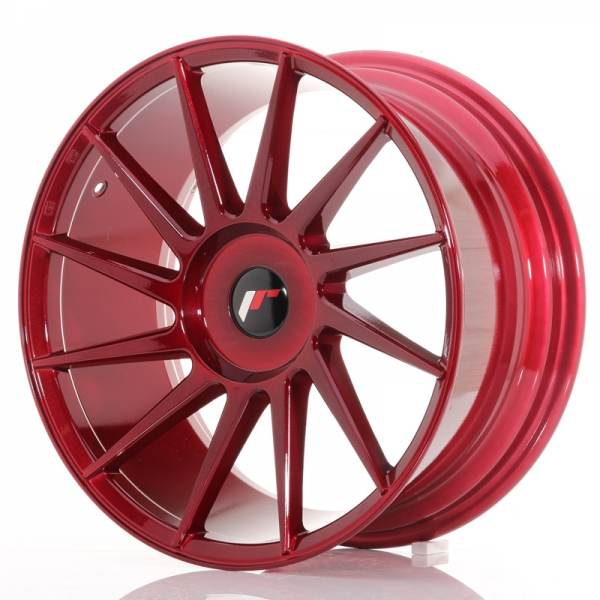 JAPAN RACING JR22 Red 5x115 ET 20-40 CB 74.1 - JR22