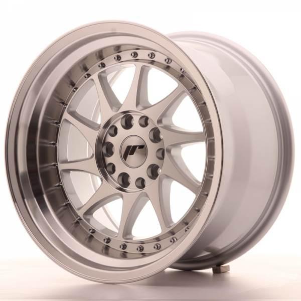 JAPAN RACING JR26 Machined Face Silver 5x114.3 ET 20 CB 74.1 - JR26