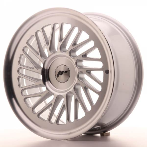 JAPAN RACING JR27 Silver Machined Face 4x100 ET 40 CB 74.1 - JR27