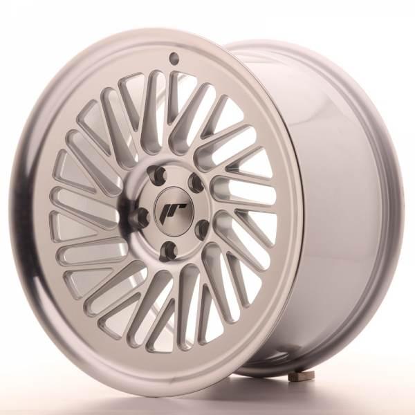 JAPAN RACING JR27 Machined Face Silver 5 ET 40 CB 66.6 - JR27