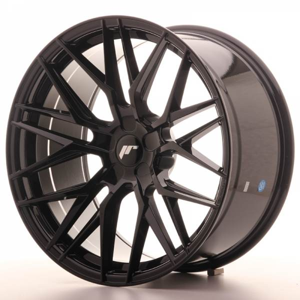 JR Wheels JR28 20x10 ET40 5H BLANK Gloss Black