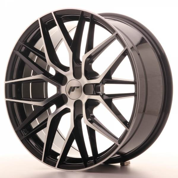 JAPAN RACING JR28 Black 20x8.5 ET25 CB74.1 5x114.3