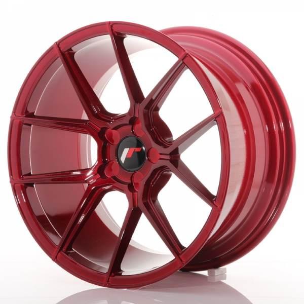 JAPAN RACING JR30 Red 5x114.3 ET 20-40 CB 74.1 - JR30