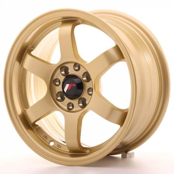 JR Wheels JR3 15x7 ET40 4x100/114 Gold