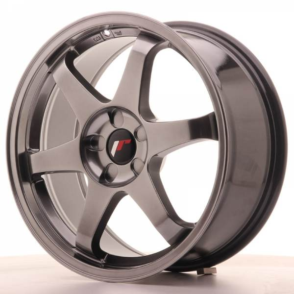 JR3 JAPAN RACING JR3 Hiper Black 18x8 5/110 N74,1