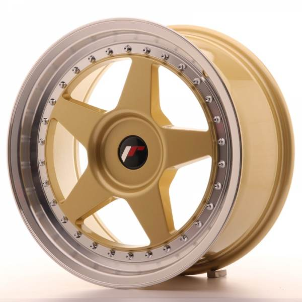 JR6 JAPAN RACING JR6 Gold 17x8 4/98 N74,1