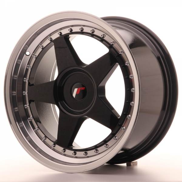 JR6 JAPAN RACING JR6 Black 18x9,5 5/112 N74,1