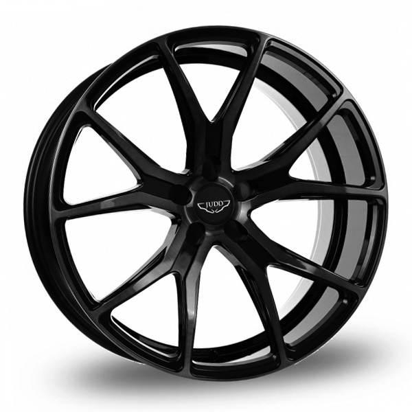 JUDD T500 MATT BLACK 5x108 ET 20-45 CB 74.1 - T500