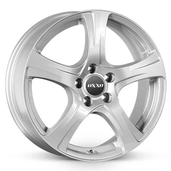 OXXO Narvi Silver 16x6.5 ET40 CB67.1 5x108