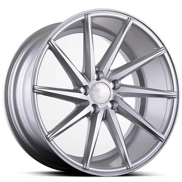 Platinum P5Left SILVER BRUSH 19x9.5 ET38 CB74.1 5x108-120
